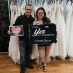 Taylor Humphreys bride at Bridal Elegance, Colorado Springs, Colorado