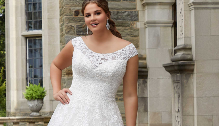 HOW TO SHOP FOR A WEDDING DRESS AS A BUSTY BRIDE